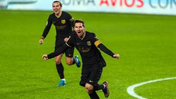 Pag 12 Foto 1- Messi anotó dos tantos ante el Granada.jpg