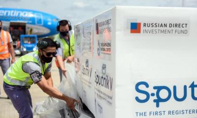 El vuelo para buscar las nuevas dosis todavía espera la confirmación en Rusia