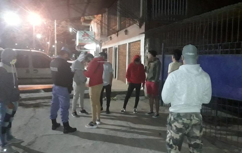 Se detectaron 27 fiestas privadas y personas  trasgrediendo las medias por la emergencia sanitaria