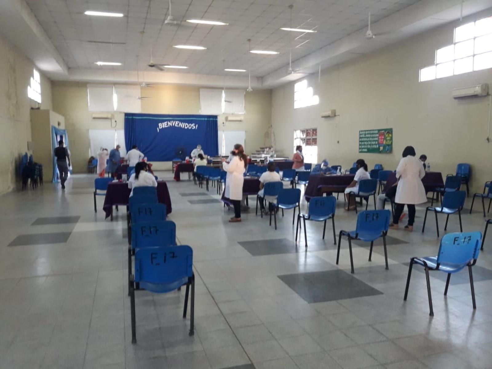 Comenzó el operativo de vacunación a los docentes en Clorinda