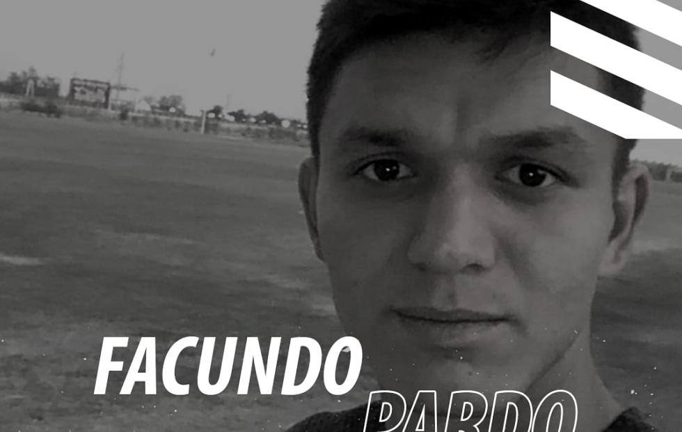 Facundo Pardo recibió la bienvenida del Club Atlético Central Norte