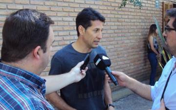 Foto- El formoseño Aldo Paredes estará en el banco de suplentes cono uno de los entrenadores del Verde..jpg
