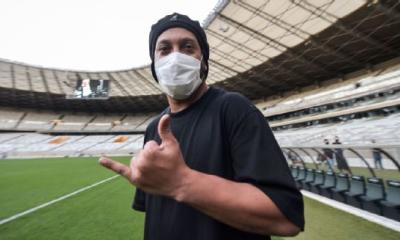 Ronaldinho dio positivo en coronavirus