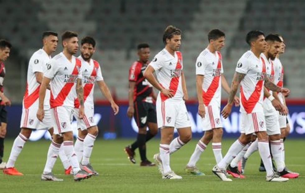 Agónico empate de River ante Paranaense